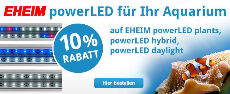 Jetzt bei ZooRoyal 10% Rabatt auf EHEIM powerLED.