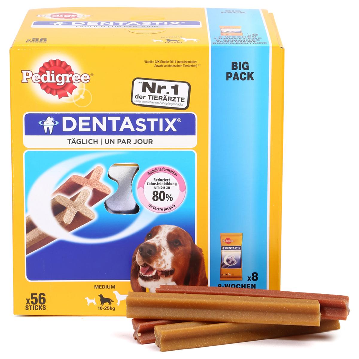 pedigree dentastix f r mittelgro e hunde kaufen bei zooroyal. Black Bedroom Furniture Sets. Home Design Ideas