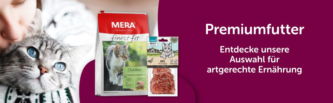 Premiumfutter für Katze