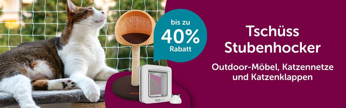 Outdoor-Möbel bis zu 40%