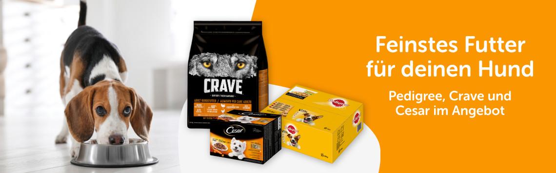 Crave, Pedigree & Cesar