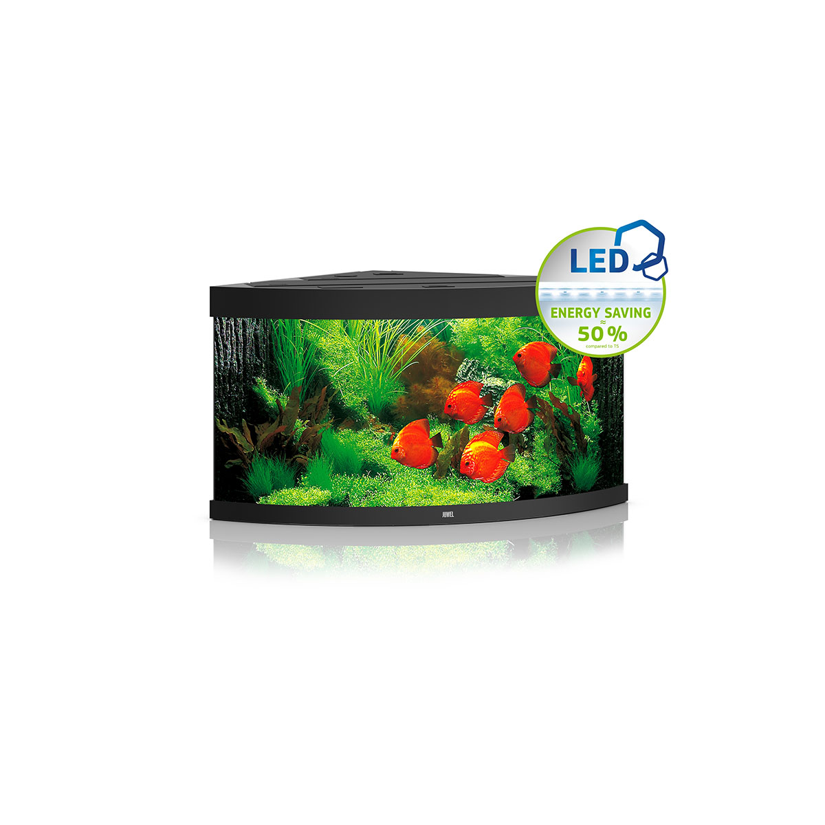 juwel komplett aquarium trigon 350 led ohne unterschrank. Black Bedroom Furniture Sets. Home Design Ideas