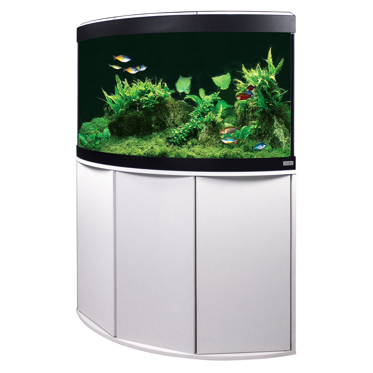 fluval panoramaaquarium mit led beleuchtung venezia 190. Black Bedroom Furniture Sets. Home Design Ideas