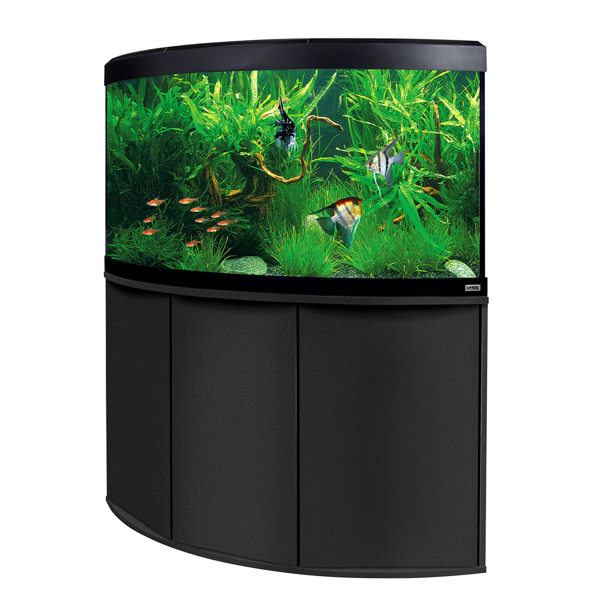 fluval panoramaaquarium mit ledbeleuchtung venezia 350. Black Bedroom Furniture Sets. Home Design Ideas