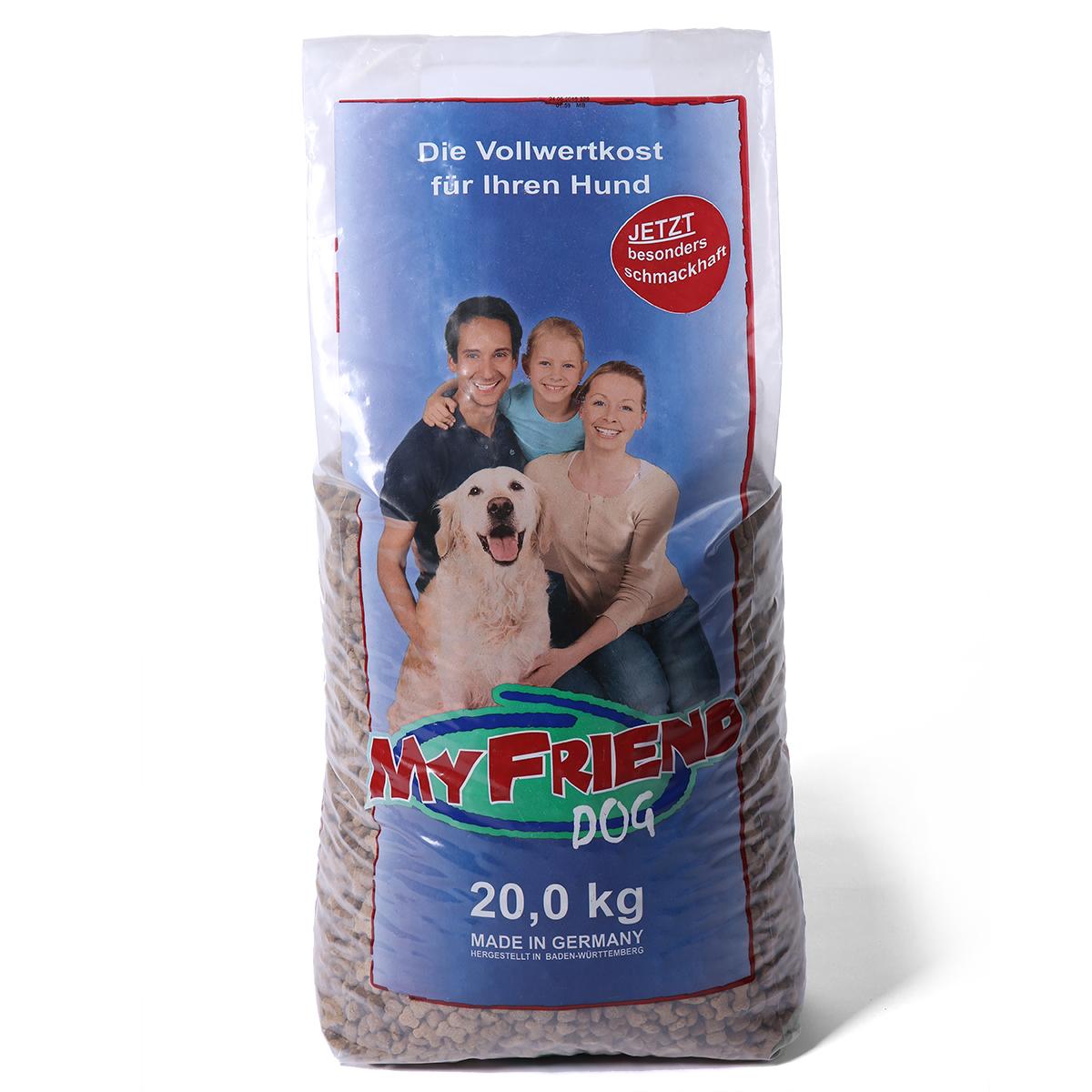 my friend kroketten hundefutter 20kg g nstig kaufen bei zooroyal. Black Bedroom Furniture Sets. Home Design Ideas