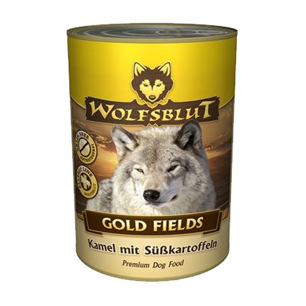 wolfsblut hundefutter gold fields kamel s kartoffel bei zooroyal. Black Bedroom Furniture Sets. Home Design Ideas