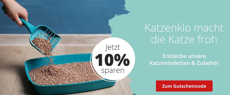 10% auf Katzentoiletten