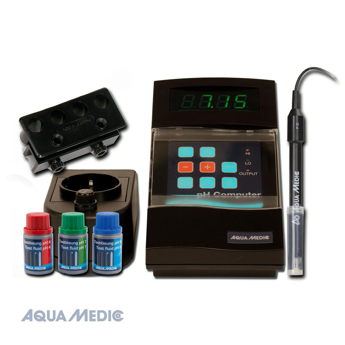 aqua medic ph computer set g nstig kaufen bei zooroyal. Black Bedroom Furniture Sets. Home Design Ideas
