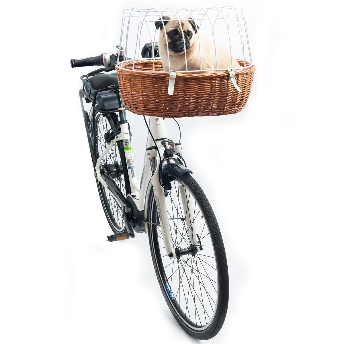 aum ller fahrrad tierkorb e bike f hig kaufen bei zooroyal. Black Bedroom Furniture Sets. Home Design Ideas