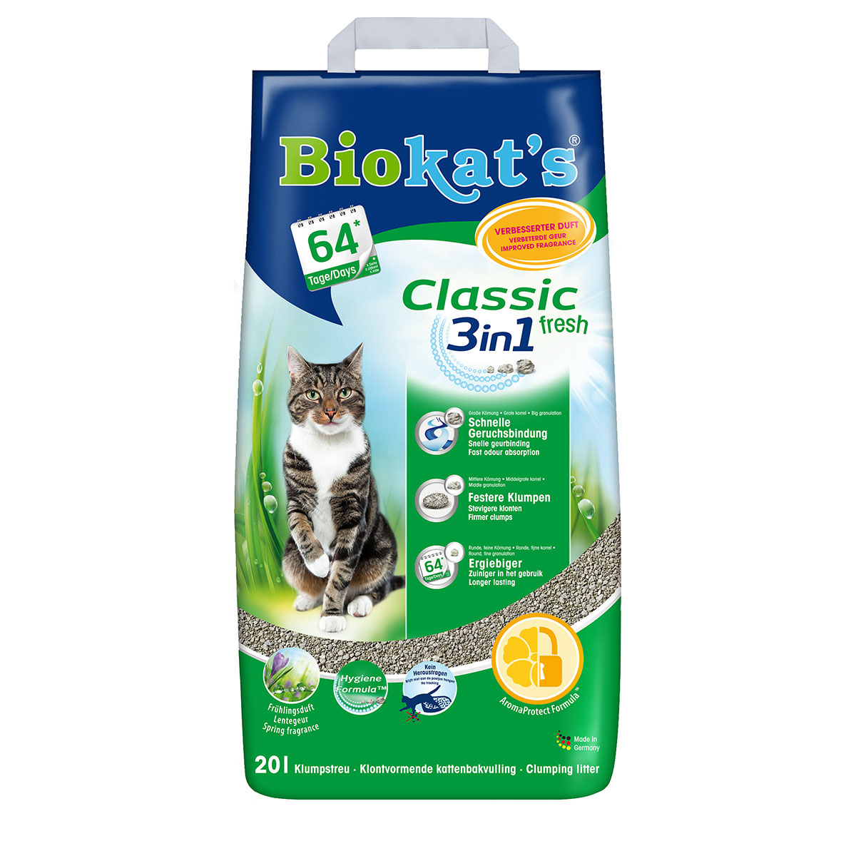 whiskas catsan kitten pack f r junior katzen mit nassfutter 1er pack 1 x 7 7 kg bunte. Black Bedroom Furniture Sets. Home Design Ideas