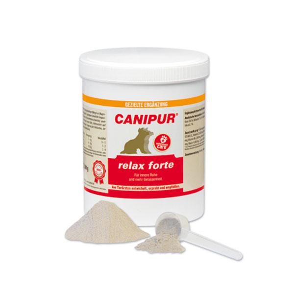Canipur relax forte Ergänzungsfuttermittel für Hunde 500g