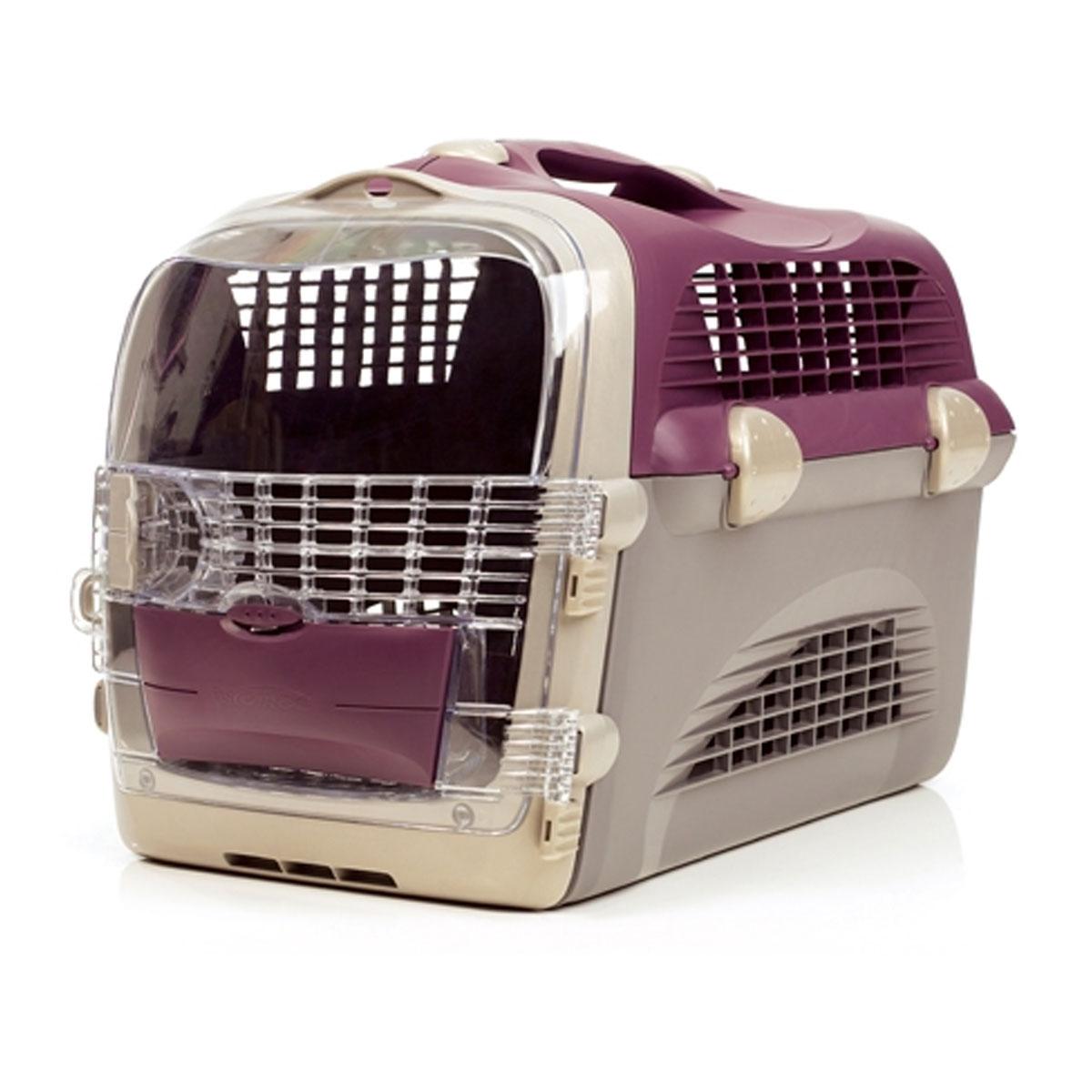catit transportbox pet cargo cabrio weinrot grau katzen. Black Bedroom Furniture Sets. Home Design Ideas