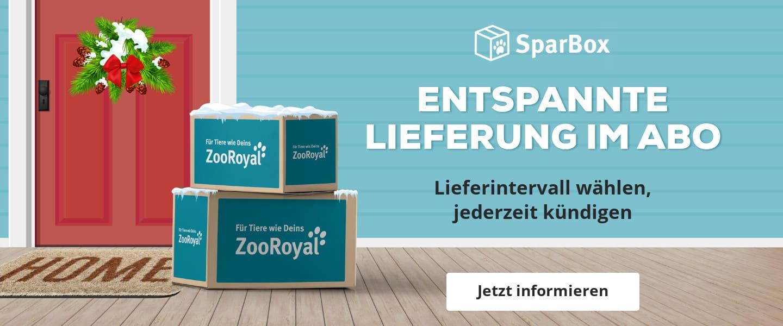 Bequem & regelmäßig sparen mit der ZooRoyal SparBox