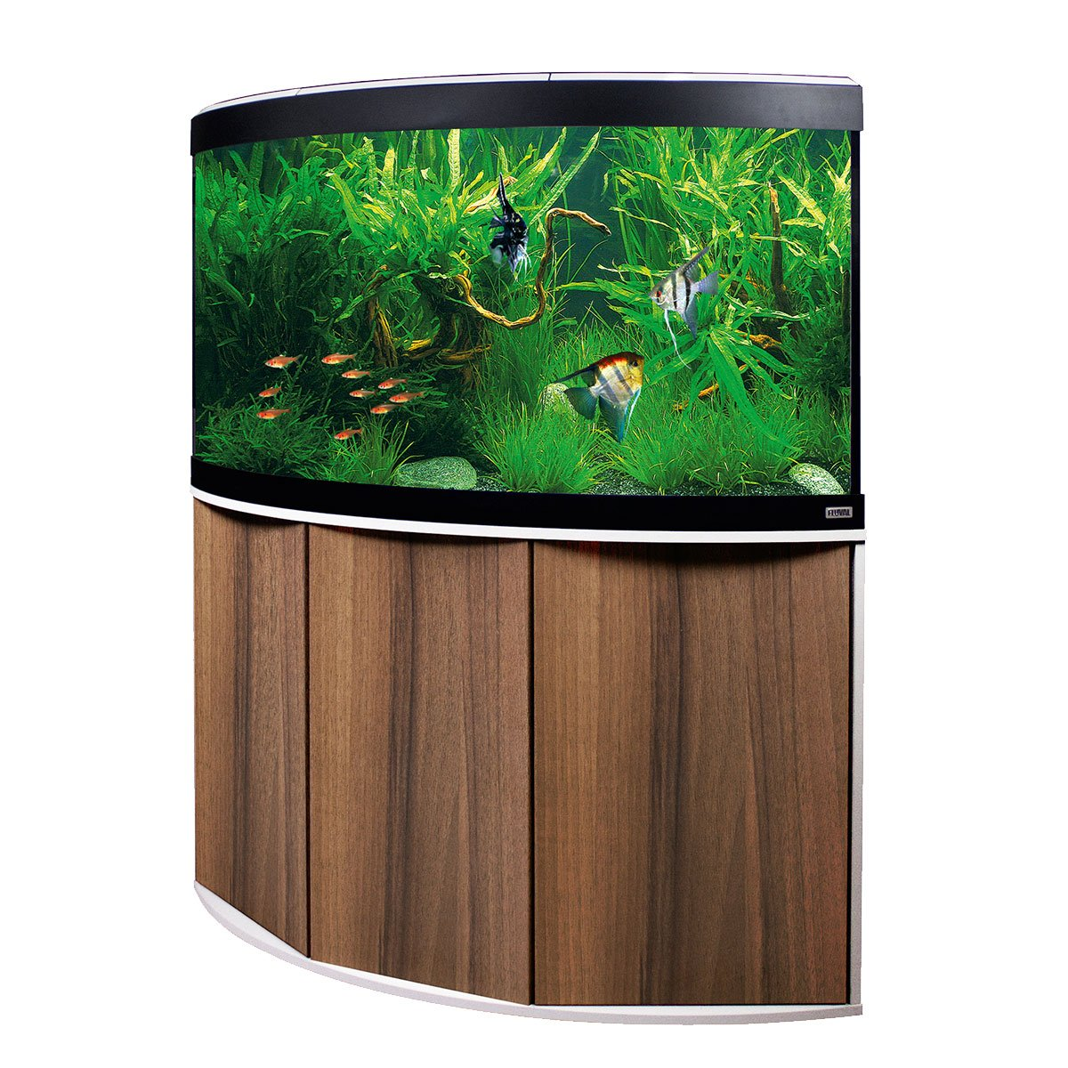 fluval panoramaaquarium mit led beleuchtung venezia 350. Black Bedroom Furniture Sets. Home Design Ideas