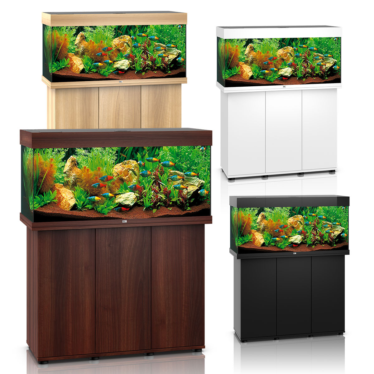 juwel rio 180 led komplett aquarium mit unterschrank sbx. Black Bedroom Furniture Sets. Home Design Ideas