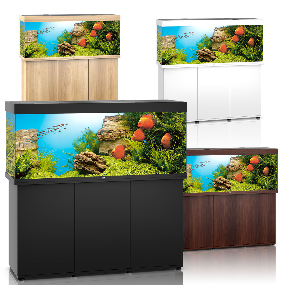 juwel rio 450 led komplett aquarium mit unterschrank sbx. Black Bedroom Furniture Sets. Home Design Ideas