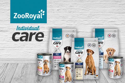 ZooRoyal Individual Care Produkte für den Hund entdecken