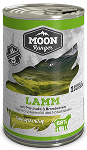 Moon Ranger Adult Lamm mit Pastinake & Brombeeren