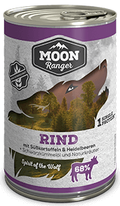 Moon Ranger Adult Rind mit Süsskartoffeln & Heidelbeeren