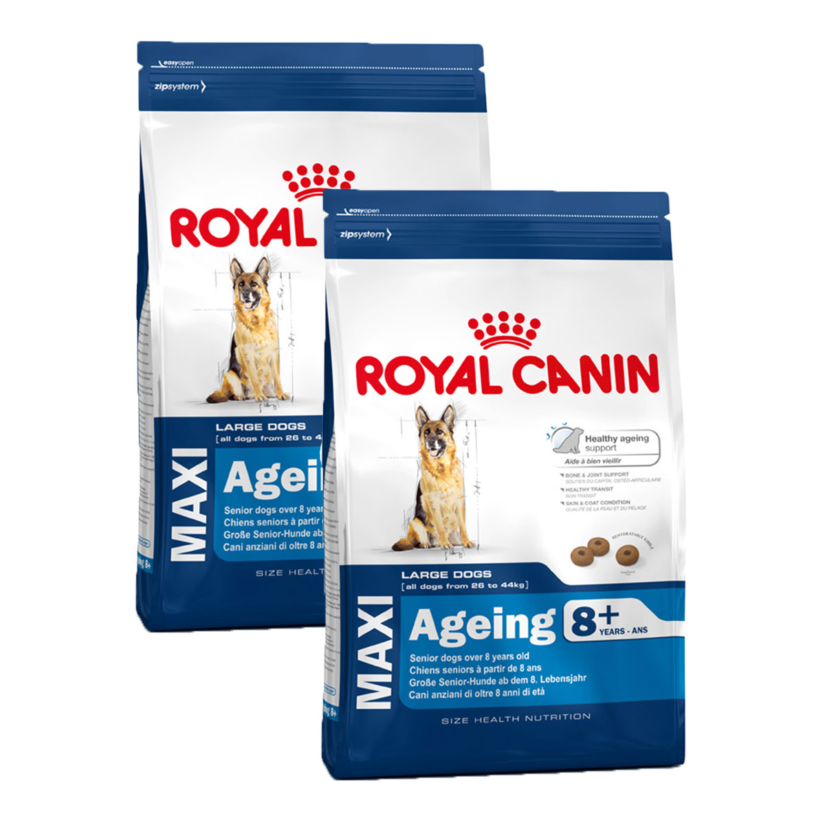royal canin maxi ageing 8 g nstig kaufen bei zooroyal. Black Bedroom Furniture Sets. Home Design Ideas