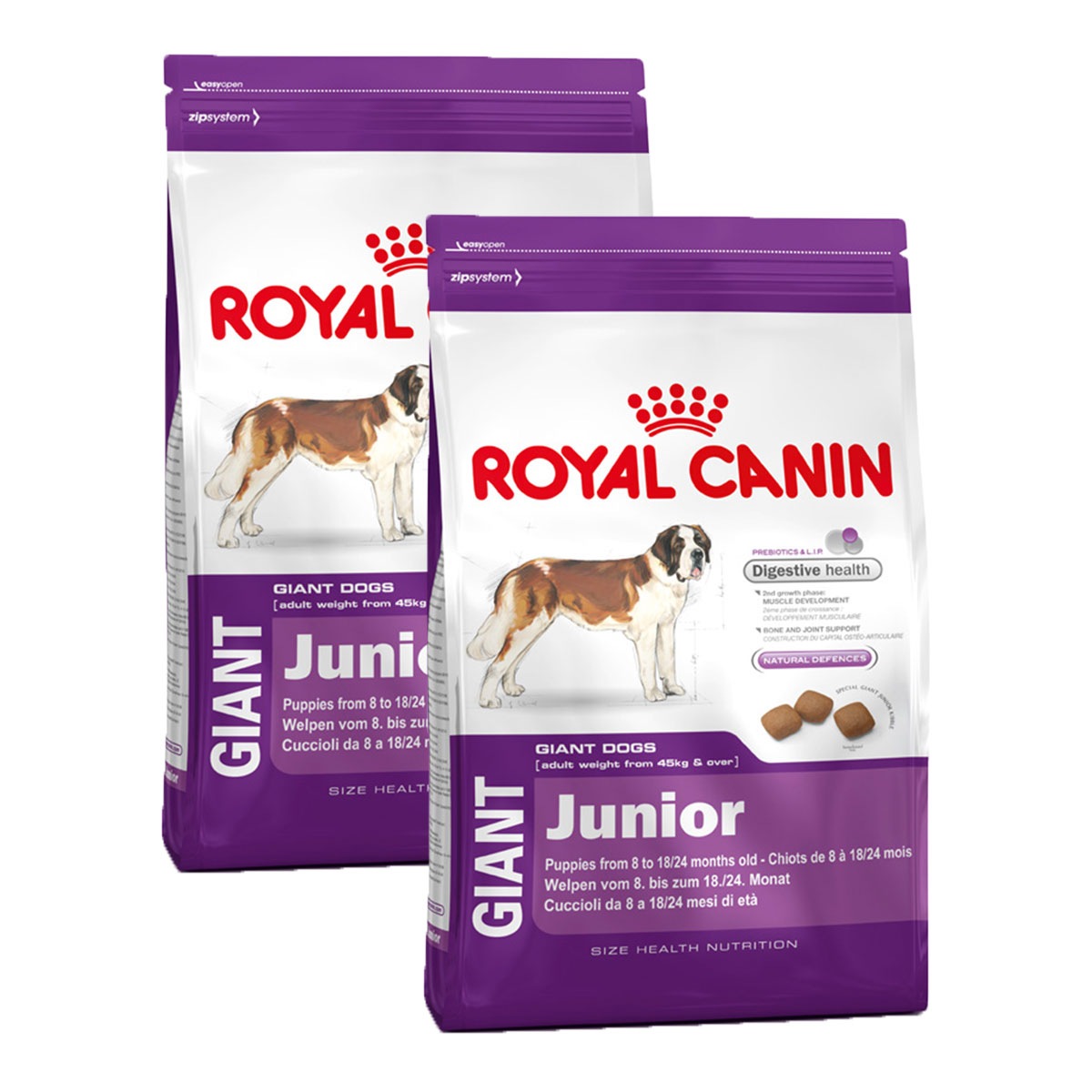 royal canin hundefutter giant puppy g nstig kaufen bei zooroyal. Black Bedroom Furniture Sets. Home Design Ideas