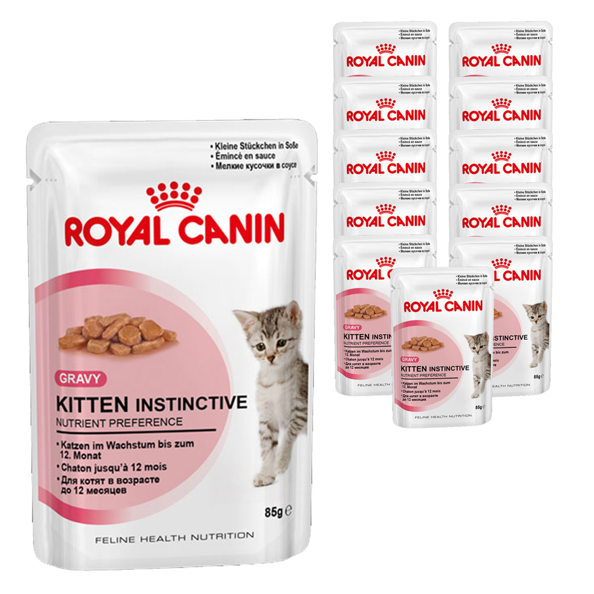 royal canin katzenfutter gravy kitten instinctive in so e 12x85g. Black Bedroom Furniture Sets. Home Design Ideas