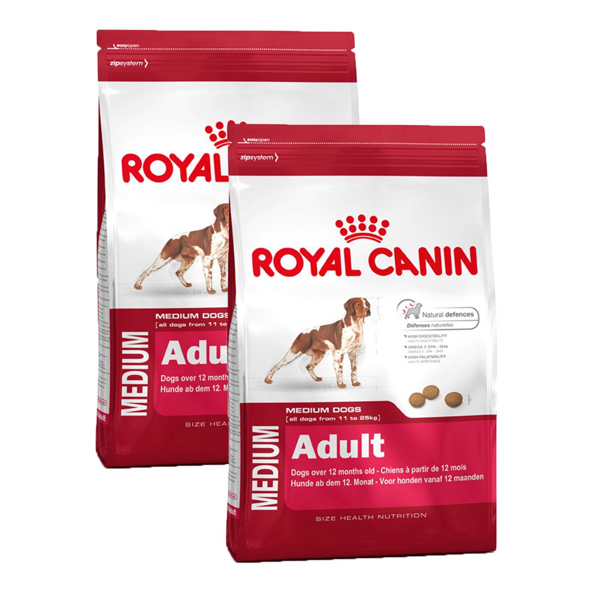 royal canin medium adult g nstig kaufen bei zooroyal. Black Bedroom Furniture Sets. Home Design Ideas