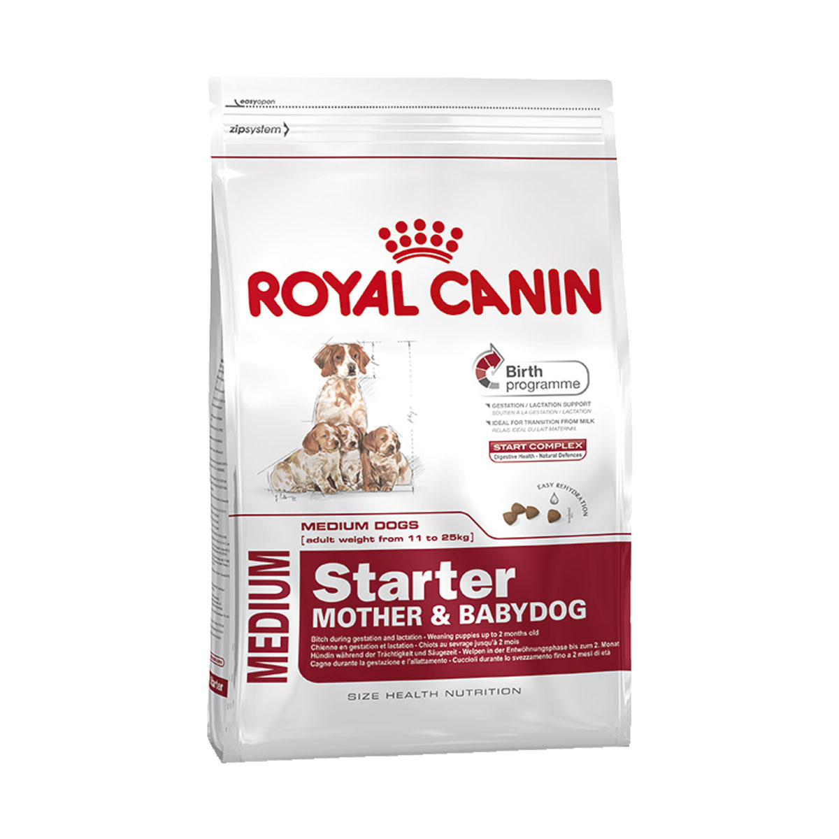 royal canin medium starter g nstig kaufen bei zooroyal. Black Bedroom Furniture Sets. Home Design Ideas