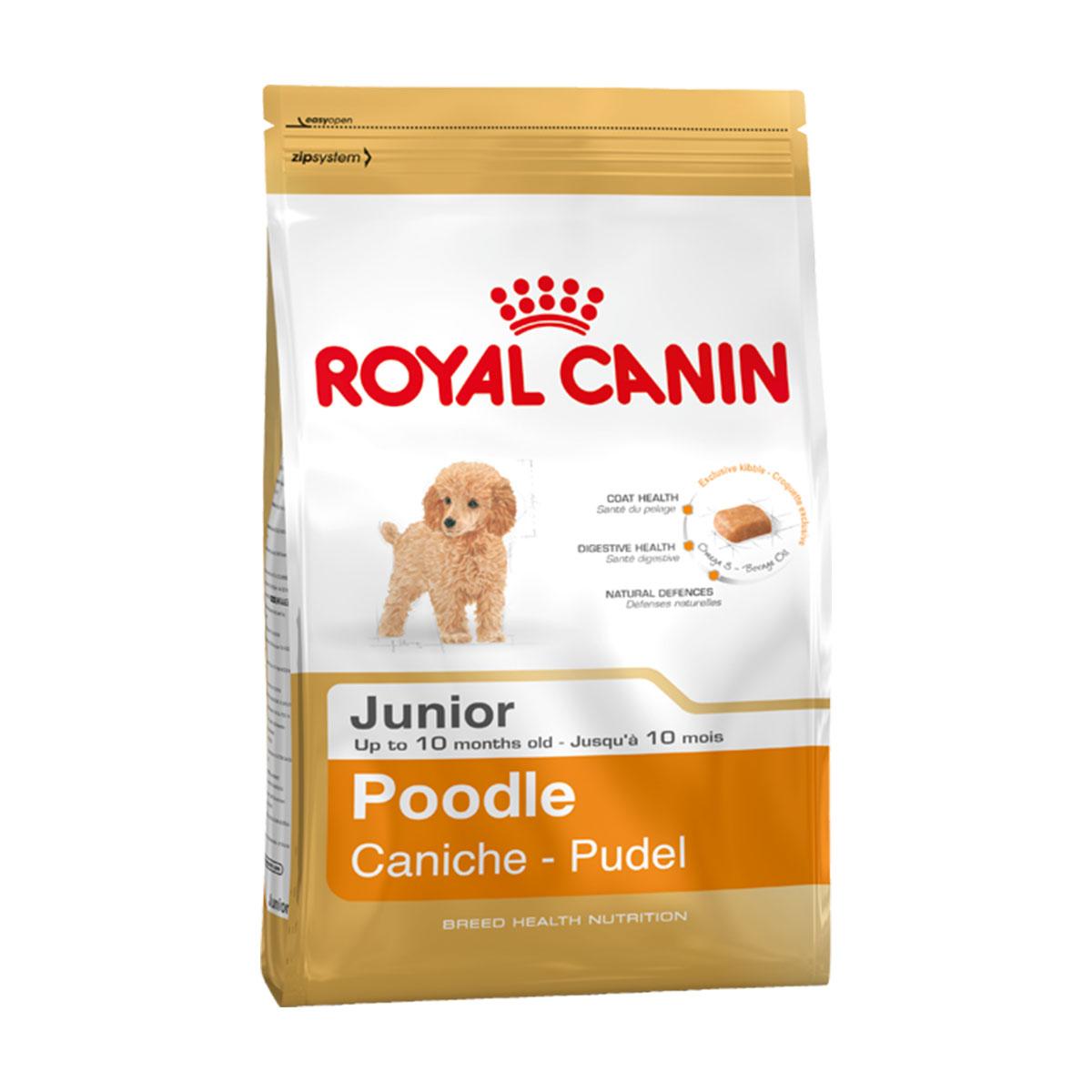 royal canin poodle junior g nstig kaufen bei zooroyal. Black Bedroom Furniture Sets. Home Design Ideas