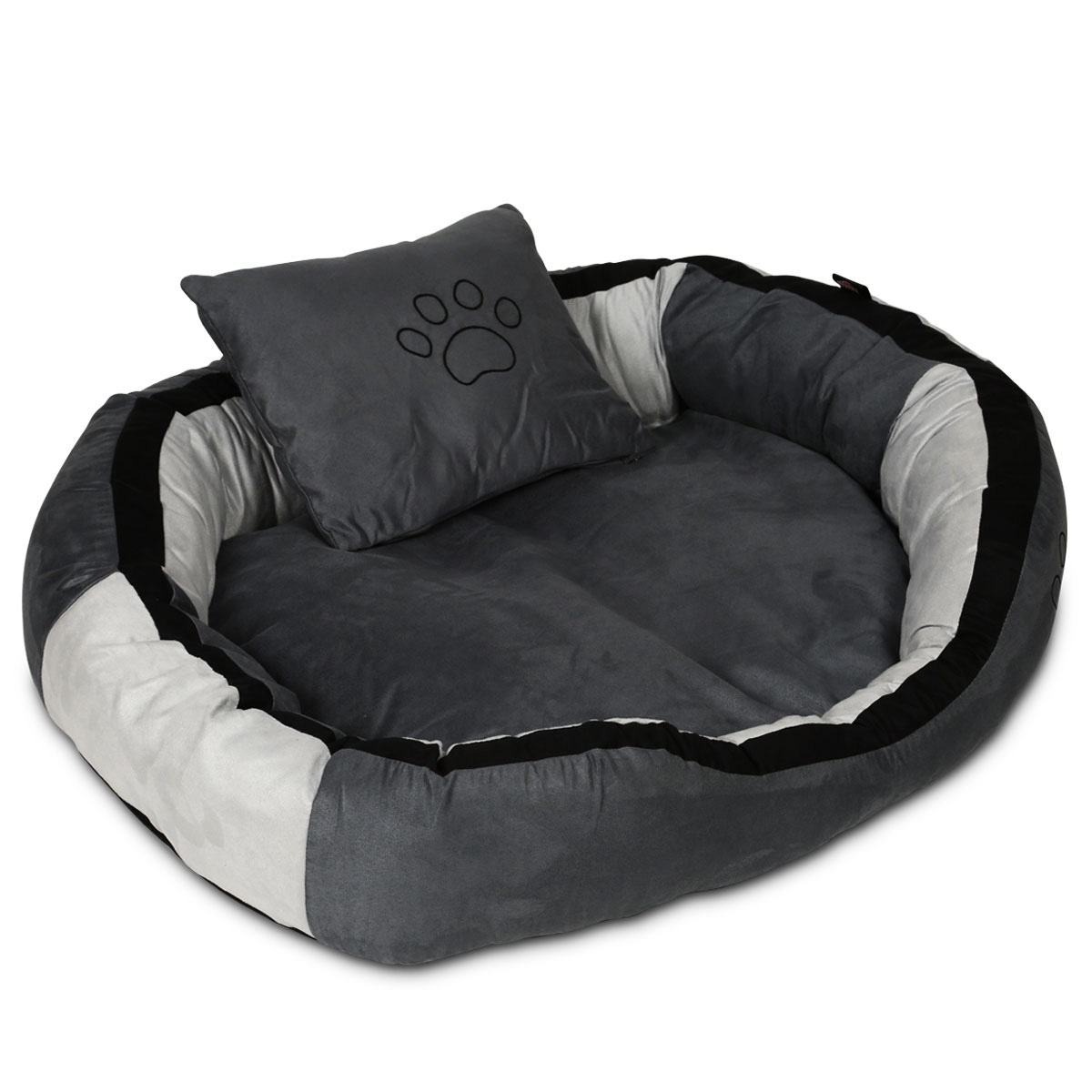 trixie bett bonzo grau schwarz g nstig kaufen bei zooroyal. Black Bedroom Furniture Sets. Home Design Ideas