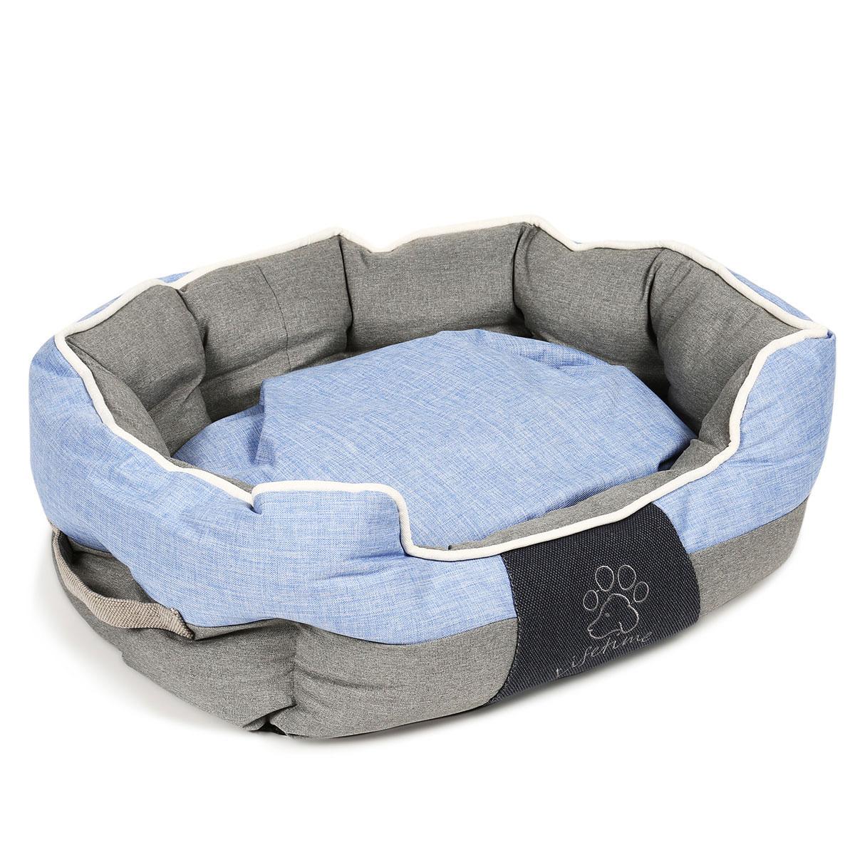 trixie bett joris grau blau g nstig kaufen bei zooroyal. Black Bedroom Furniture Sets. Home Design Ideas