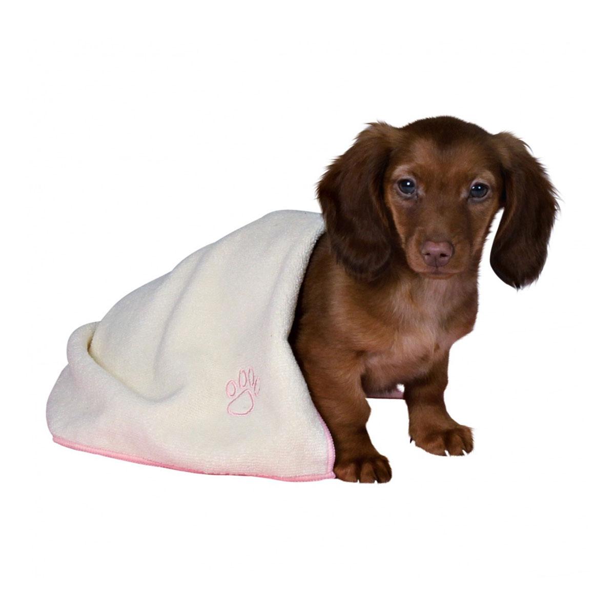 Trixie welpen set decke spielzeug handtuch rosa bei
