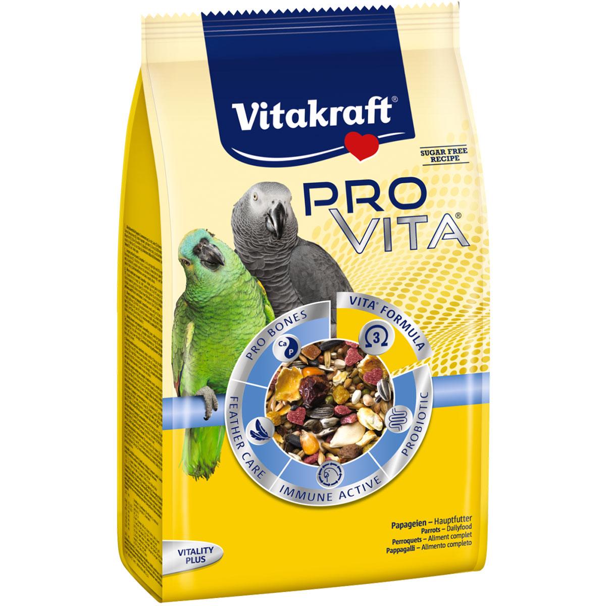 Vitakraft vogelfutter pro vita papagei g kaufen bei