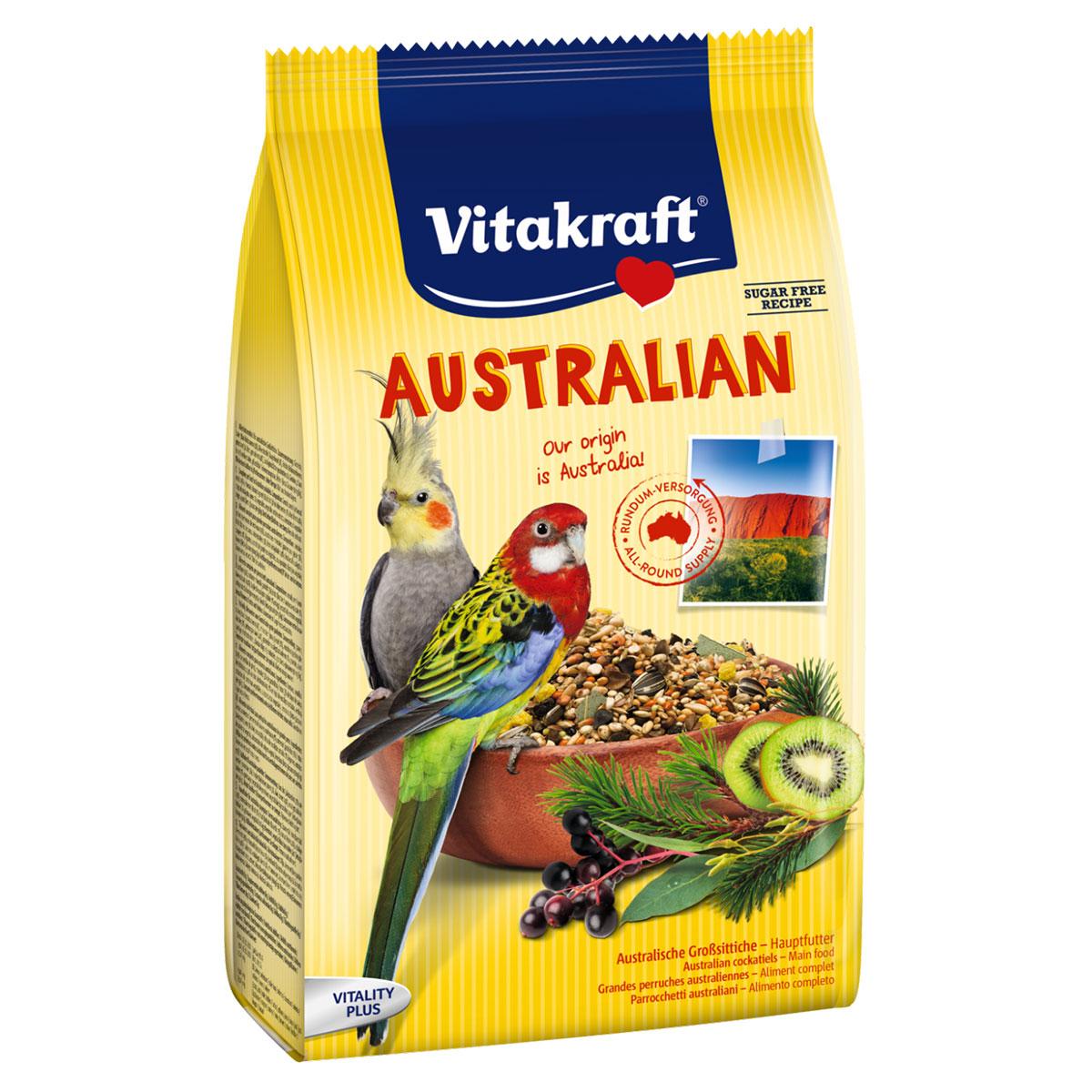 Vitakraft vogelfutter australian für nymphensittiche g