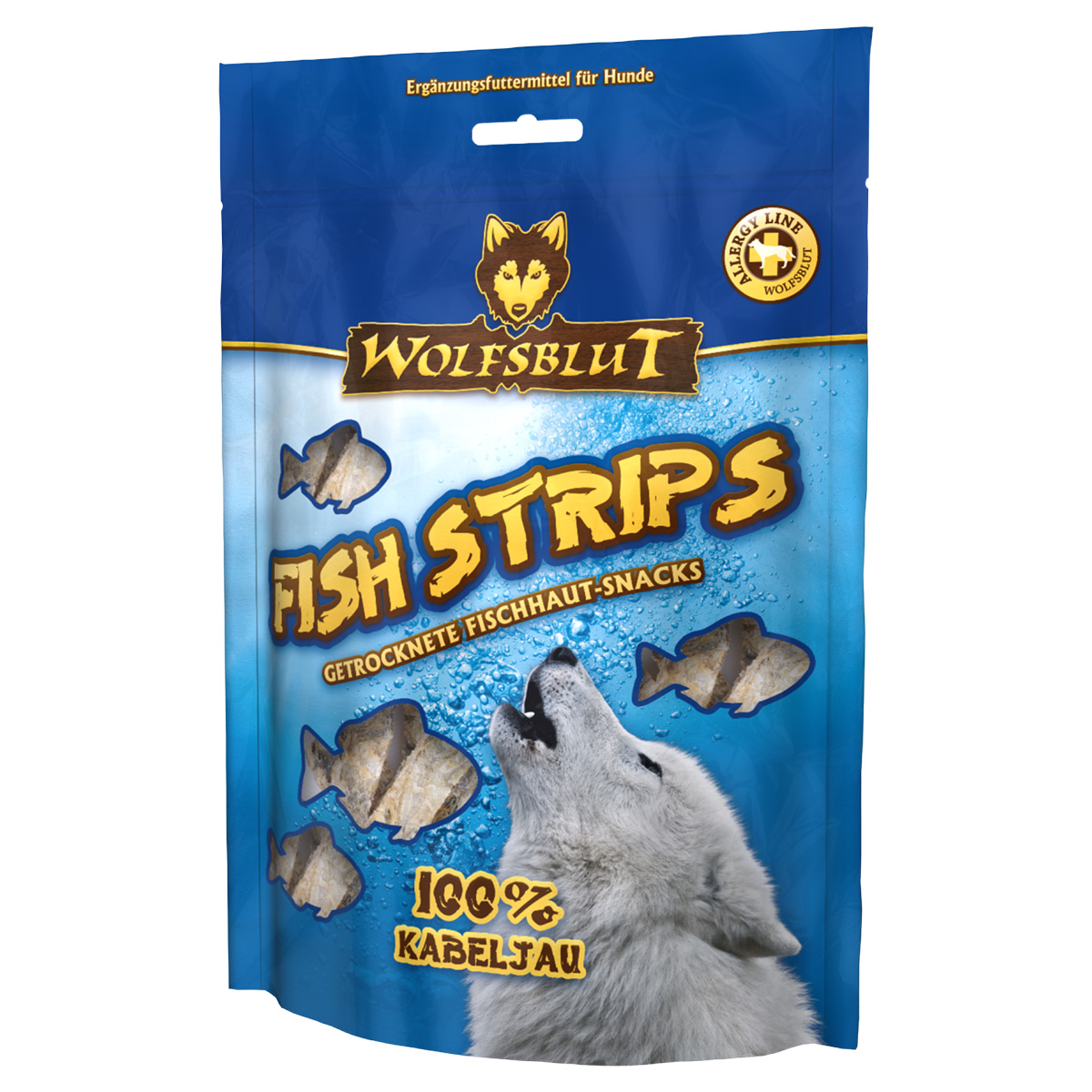 wolfsblut fish strips kabeljau 100g g nstig kaufen bei zooroyal. Black Bedroom Furniture Sets. Home Design Ideas