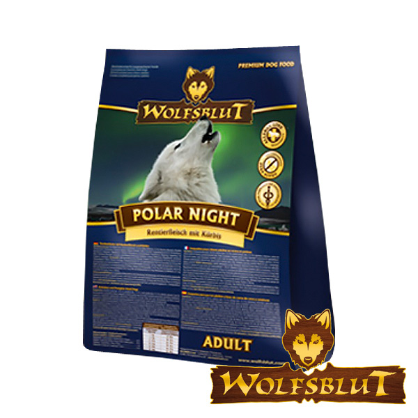 wolfsblut polar night mit rentierfleisch und k rbis bei zooroyal. Black Bedroom Furniture Sets. Home Design Ideas