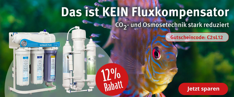 12% Rabatt auf Co2- & Osmoseanlagen