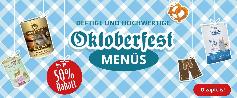 Oktoberfest-Menüs