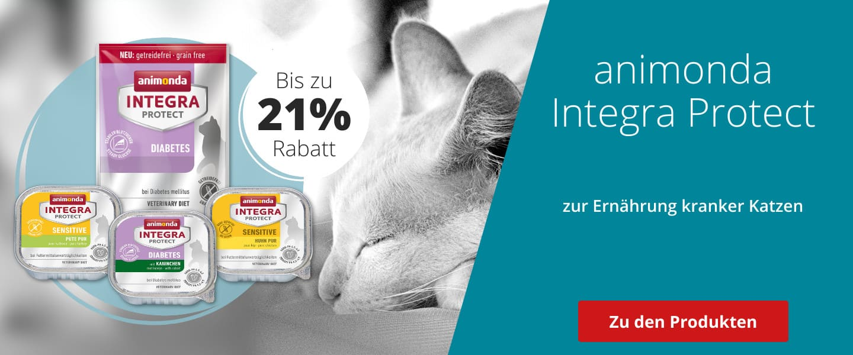 animonda INTEGRA PROTECT Diätfutter bis 21% günstiger