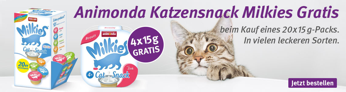 Animonda Milkies gratis