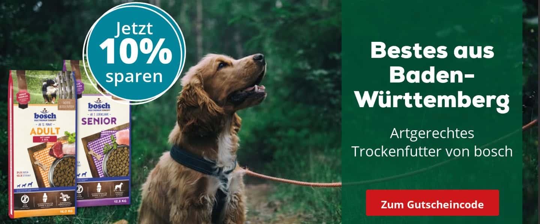 Bosch Trockenfutter mit 10% Rabatt