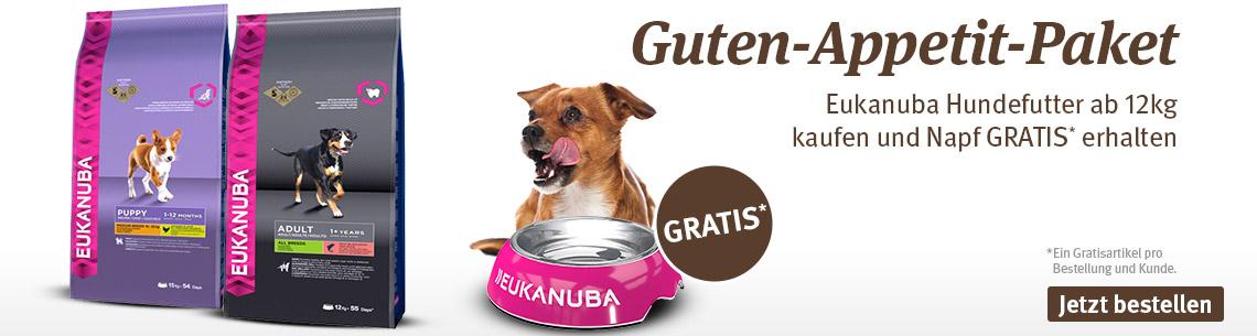 Eukanuba 12kg & gratis Napf