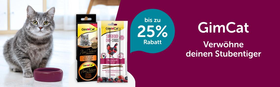GimCat bis zu 25%