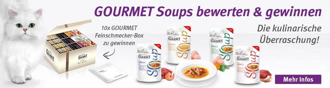 Gourmet Soups testen und gewinnen