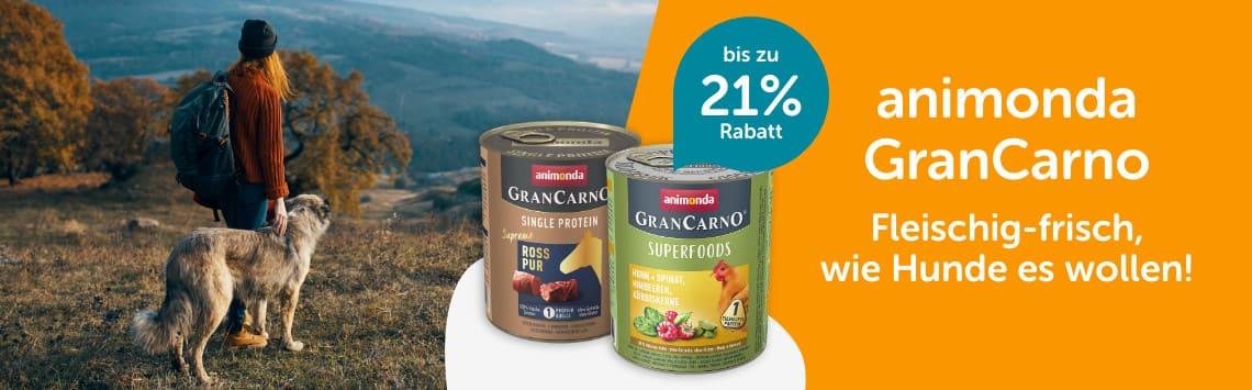 Gran Carno bis zu 21%