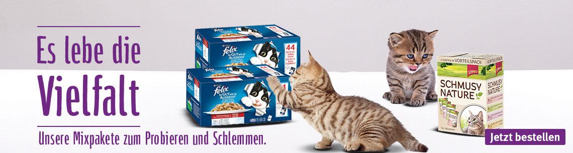 Mixpakete Katze
