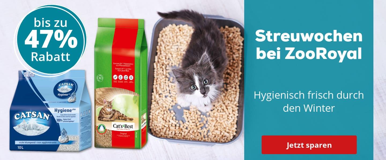 Katzen-Streuwochen