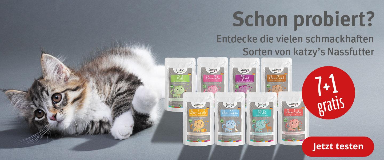 Katzy's Probierpaket 7+1 Gratis