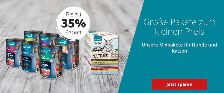 Mixpakete für Hunde und Katzen