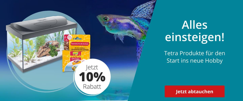 Einsteiger- Zubehör & Futter von Tetra mit 10% Rabatt